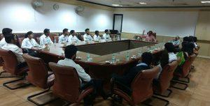 Industrial visit to Doordarshan